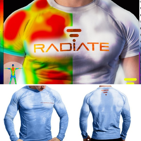 102a31622493 Radiate Athletic Color Changing Workout Shirt